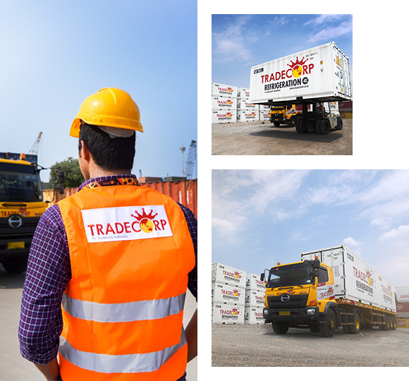 jasa logistik trucking services